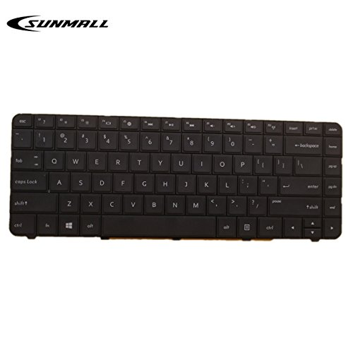 SUNMALL Laptop keyboard replacement for HP Pavilion CQ57 CQ58 G4-1000 G6-1000 2000 2000-100 2000-200 2000-300 2000-2b19wm 2000-2c29nr 2000-2b09wm 2000-2b20nr 2000-2d27dx 2000-2b19wm Series US Layout ... ()