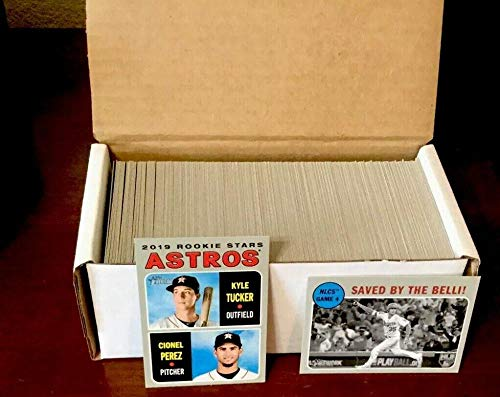(2019 Topps Heritage Complete Hand Collated Baseball NM-MT Set of 400 Cards With Rookies - NO Short Prints.)