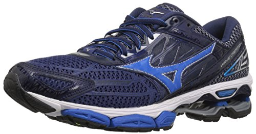 Mizuno Men's Wave Creation 19 Running Shoe, Blue Depths/Peacoat, 7 D US