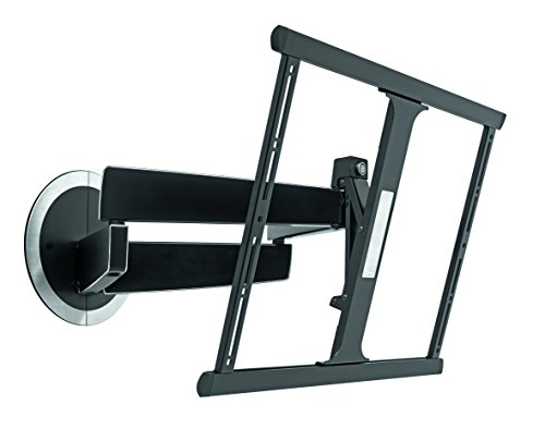 Vogel's Full Motion TV Wall Mount, Swivel and Tilt - for 40 to 65 inch TV, NEXT 7345, Black