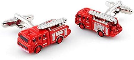 Boutons de Manchette Camion de Pompier