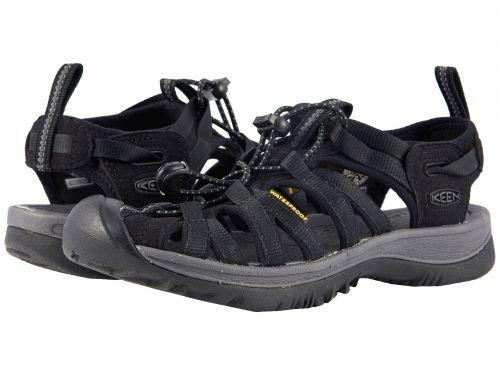 きらきら彼らの慈悲深いKeen(キーン) レディース 女性用 シューズ 靴 サンダル Whisper - Black/Magnet 5 B - Medium [並行輸入品]