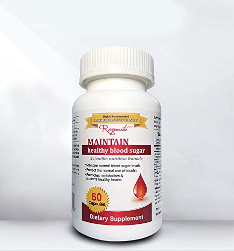 Royavita Non-GMO, Vegan, Gluten Free, Soy Free, Helps Maintain Healthy Blood Sugar (60 Counts in a - Maintain Healthy