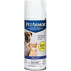 PETARMOR LongLast Fipronil Flea and Tick Spray for Dogs and Cats