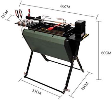 SCRFF Pliant 3-5 Personnes Maison de Jardin Barbecue Portable Grill Barbecue au Charbon Ustensiles de Barbecue