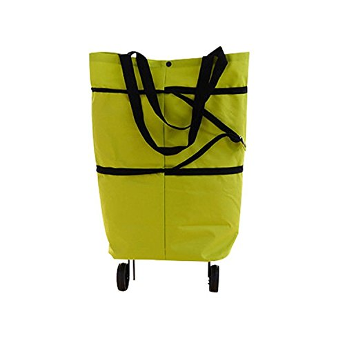 Folding Shopping Bags ShineMe Outdoor Foldable Luggage Grocery
