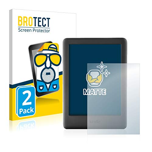 BROTECT Protector Pantalla Anti-Reflejos Compatible con Amazon Kindle 2019 (10a generación) (2 Unidades) Pelicula Mate…