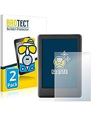 BROTECT 2x Antireflecterende Beschermfolie compatibel met Amazon Kindle 2019 (10. Generatie) Anti-Glare Screen Protector, Mat, Ontspiegelend