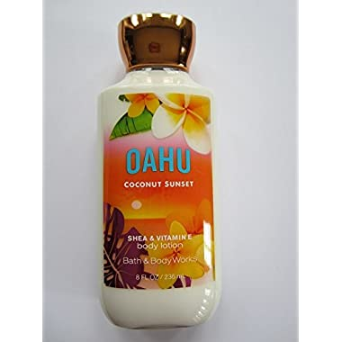 Bath Body Works Oahu Coconut Sunset 8.0 oz Body Lotion