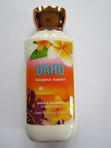 Bain œuvres Oahu coco Sunset 8,0 oz Body Lotion pour le corps