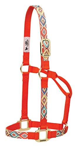 Weaver Leather Navajo Non-Adjustable Nylon Horse Halter, Average, ()