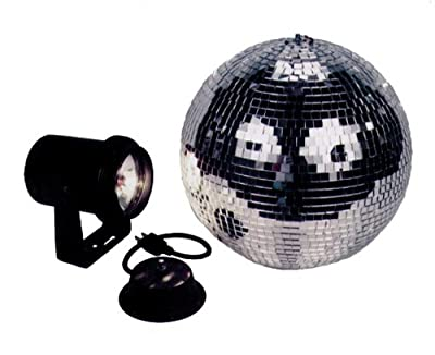 American Dj Mb8 Combo 8 Inch Mirror Ball Kit With Battery Powered Motor by American DJ Group of Companies