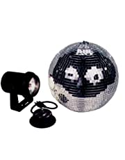 American Dj Mb8 Combo 8 Inch Mirror Ball Kit With Battery Powered Motor