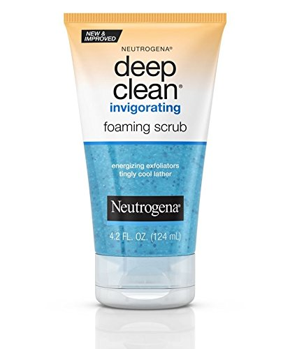 Neutrogena Deep Clean Invigorating Foaming Scrub, 4.2 Ounce (Pack of 2)