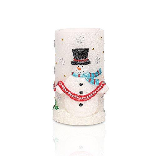 snowman timer candles - 1