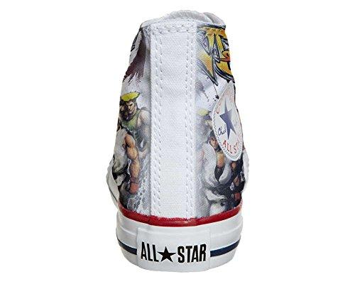 Converse Customized - zapatos personalizados (Producto Artesano) The fighters