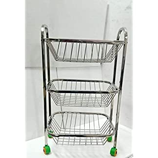 3 Layer Kitchen Trolley
