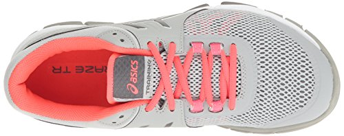 Cross Mid Trainer TR Carbon ASICS 4 Pink Grey Craze Women's Gel Shoe Diva CqZTwBS