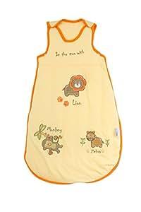 Slumbersac - Saco de dormir de verano para bebé, 0,5Tog, 0-6meses, diseño de zoo