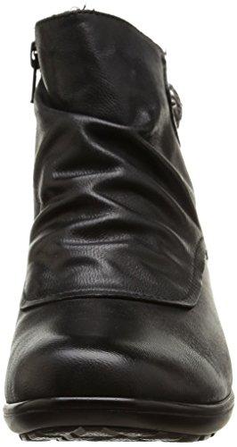 Romika Banja 02 - Calzado de primeros pasos para mujer Negro (schwarz 100)