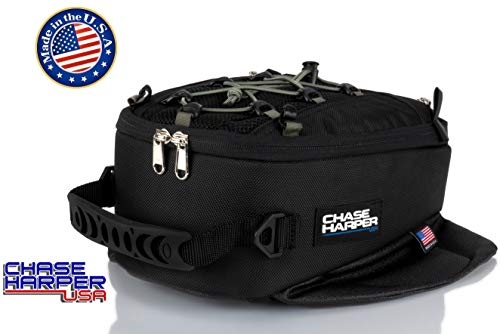 Chase Harper 450M Magnetic Tank Bag, Water-Resistant, Tear-Resistant, Industrial Grade Ballistic Nylon with Anti-Scratch Rubberized Polymer Bottom, Super Strong Neodymium Magnets