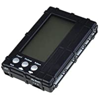Hobbypower 3 in 1 RC LiPo LiFe Battery LCD Voltage Meter Tester Balancer