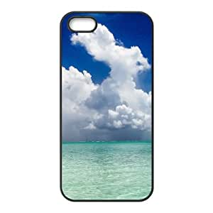 iPhone 5 5s Cell Phone Case Covers Black Bora Bora With Nice Appearance Phone cover W9322573