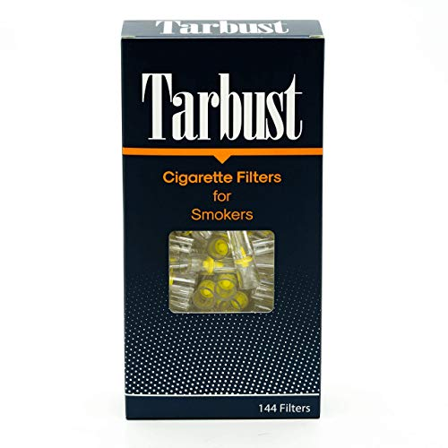 Tarbust Disposable Cigarette Filters 1 Pack of 144 Filters