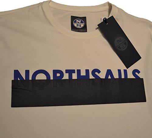 North Sails Herren T-Shirt weiß Bianco