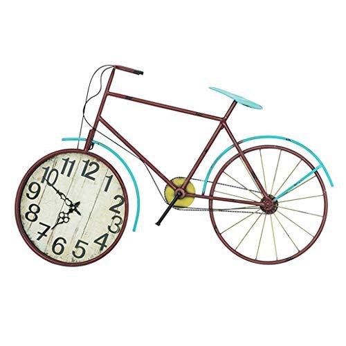 YF-Clock Reloj de Pared silencioso Estilo Americano Vintage Estilo ...