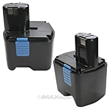 2 x ExpertPower 18v 2.0 Amp / 2000mAh NiCd Battery for Hitachi EB1812S EB1814SL EB1820 EB1820L EB1824L EB18B