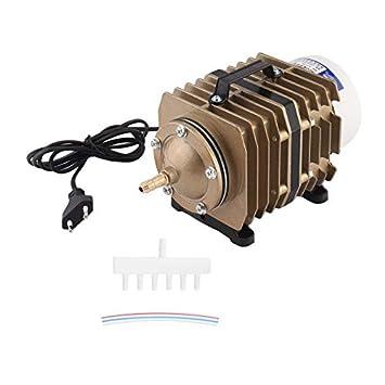 RoadRomao Bomba de oxígeno 40L / Min 35W electromagnética de la Bomba del compresor de Aire Acuario ACO-002: Amazon.es: Hogar