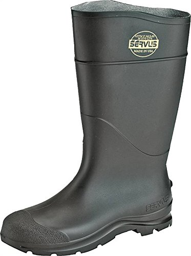 CT™ Economy Knee Boots - steel toe pvc safety pacboots black Economy Knee Boots