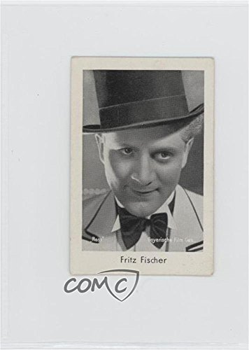 Fritz Fischer COMC REVIEWED Good to VG-EX (Trading Card) 1930s Josetti-Filmbilder - Tobacco Series 3 #739