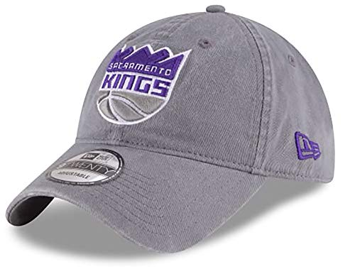 New Era  Men's Core Classic Sacramento Kings Gray One Size Fits All