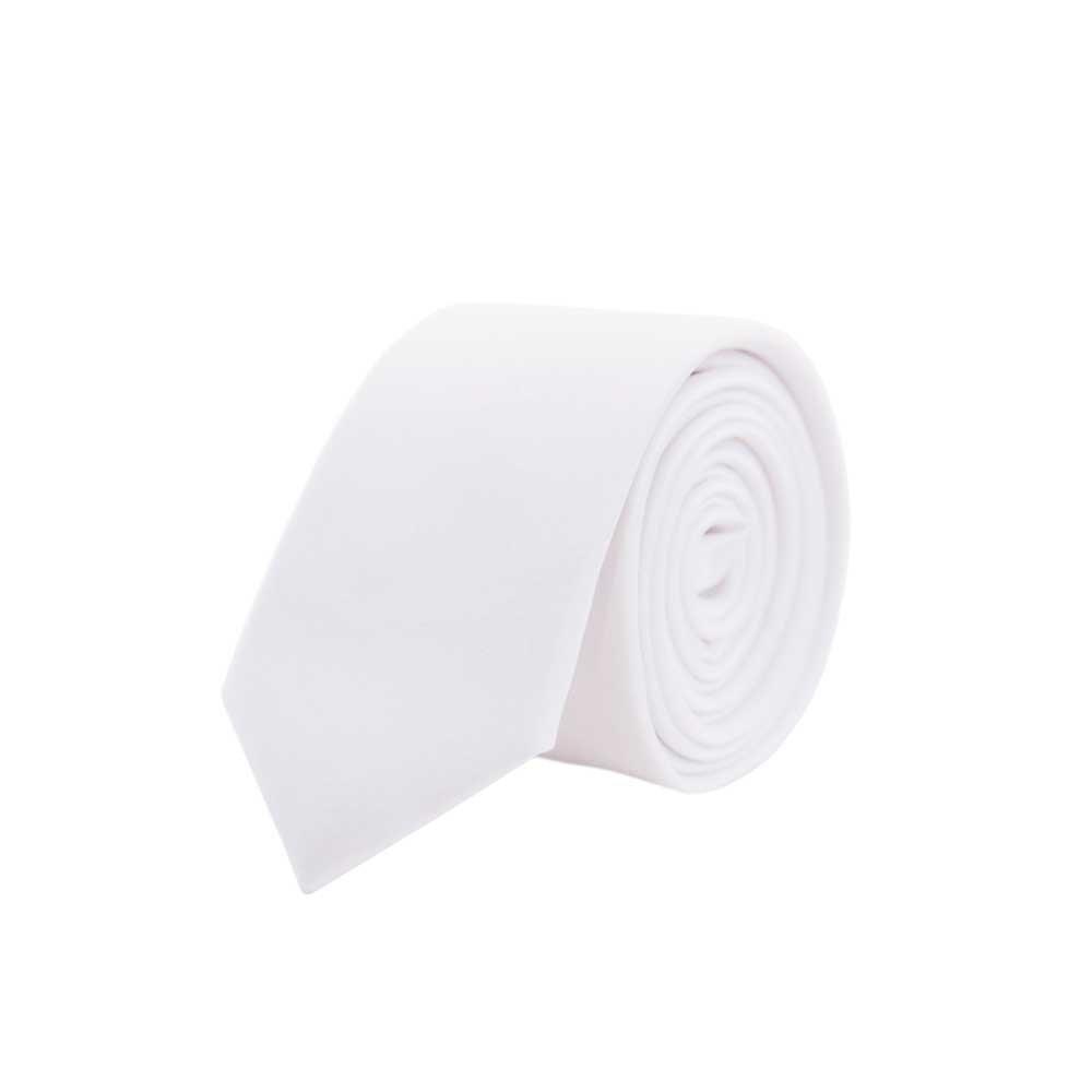5 cm Jnjstella Corbata para hombre delagada y de color s/ólido