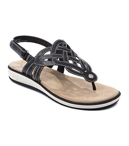 Wear.Ever. Tulsa Women's Sandals & Flip Flops Black Size 9 M (WR11722)