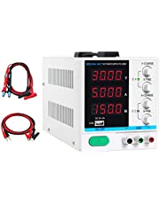 DC Power Supply Variable,0-30V 0-5A, 4-Digital LED Display, Precision Adjustable Switching Regulated Multifunctional Power Supply Digital with USB Interface, Disply with Output Power Lab Grade