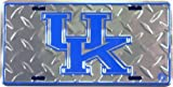University of Kentucky Diamond License Plate Tin Sign 6 x 12in