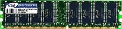ADATA 1 GB DDR-333 (PC-2700) SO-DIMM Memory Module AD1S333A1G25R (Black) ()