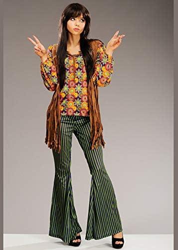 Disfraz de Cantante Hippy Estilo Cher de los años 60 para Mujer ...