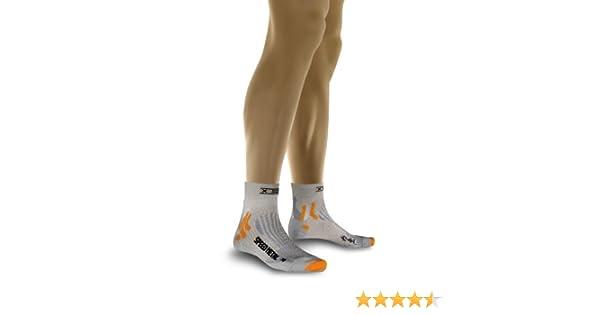 X-Socks Funktionssocke Speed Metal - Prenda para hombre, color, talla DE: 35-38: Amazon.es: Deportes y aire libre