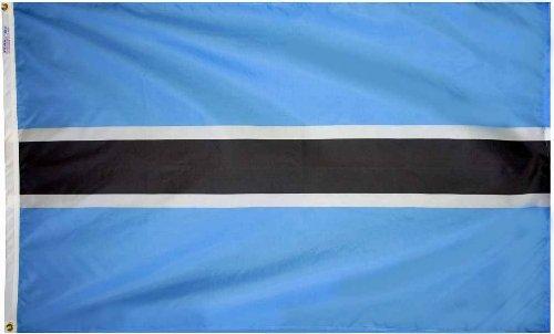 Botswana - 3' x 5' Nylon World Flag
