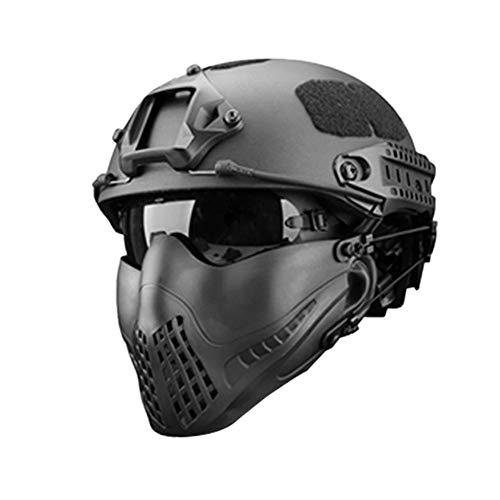 332PageAnn Masque Tactique extérieur Système de Bandeau à Deux Modes, Masque de Protection Tactique Visage Inférieure… 1