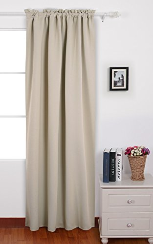 Deconovo Blackout Curtains Treatments Insulated
