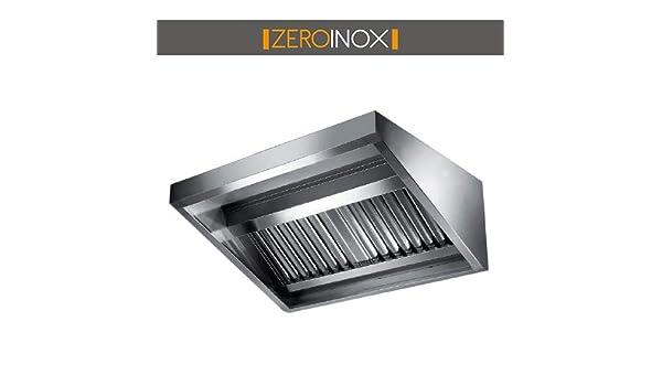 Campanas Aperitivos Acero Inoxidable para cocinas de Pared Profundidad 90 cm – para pizzerías Restaurantes Bar: Amazon.es: Hogar