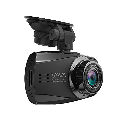 VAVA Dash Cam 1080P Dashboard Camera 2.7' Screen, F1.8 Aperture for Night Capture 5 Lanes 178 Degrees Wide Angle Lens