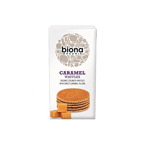 Biona Gofres de Sirope de Caramelo Sin Gluten Vegano 175g (Pack de 3)