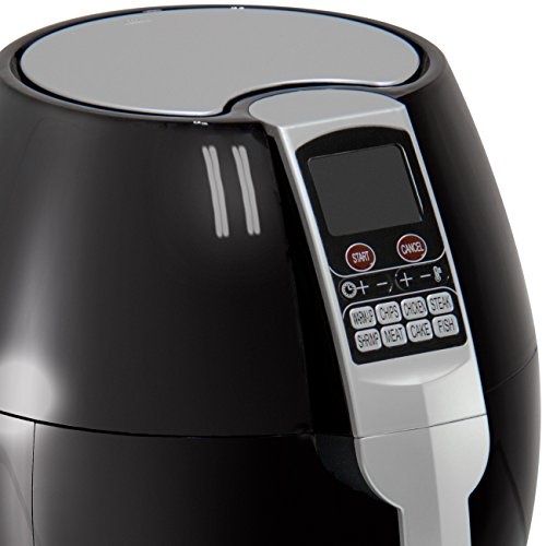 Best Choice Products 3.7qt Electric Air Fryer w/ 8 Cooking Presets, Temperature Control, and Timer - Black by Best Choice Products (Image #4)