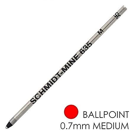 Mini Refill SCHMIDT Confezione da 5 Ricariche per Mini Penna a Sfera Blu Punta Media